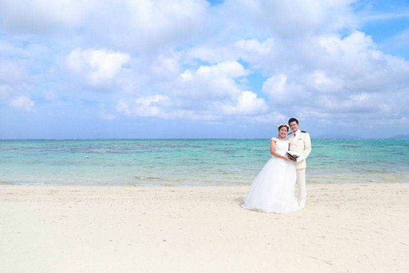 石垣島のビーチでロケフォト